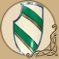 LARP Shield Green Knight